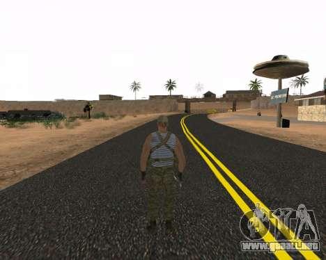 Pak Militar Ruso para GTA San Andreas segunda pantalla
