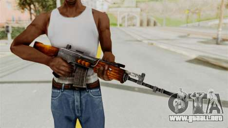 IOFB INSAS Detailed Orange Skin para GTA San Andreas tercera pantalla
