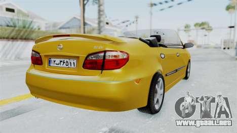 Nissan Maxima Spyder para GTA San Andreas left