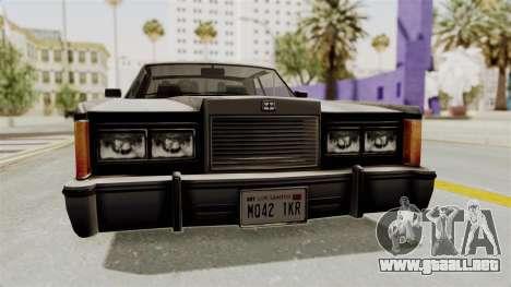 GTA 5 Dundreary Virgo SA Style para visión interna GTA San Andreas