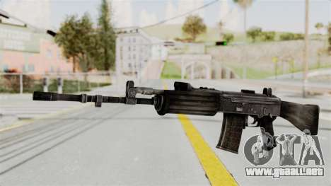 IOFB INSAS Detailed Black Skin para GTA San Andreas