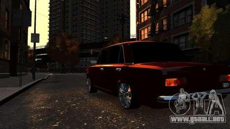VAZ 21011 Style para GTA 4 vista hacia atrás