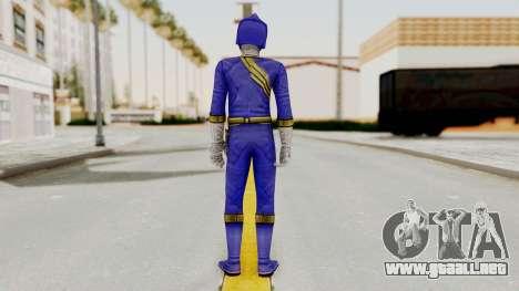 Power Rangers Wild Force - Blue para GTA San Andreas tercera pantalla