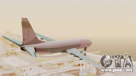 Boeing 737-3U3 Garuda Indonesia para la visión correcta GTA San Andreas