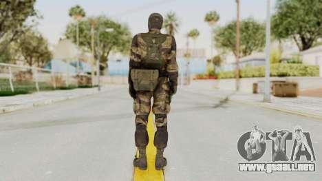 MGSV TPP Diamond Dog Combat Female para GTA San Andreas tercera pantalla