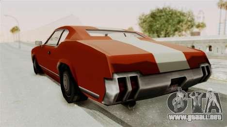 Beta VC Sabre Turbo para la visión correcta GTA San Andreas