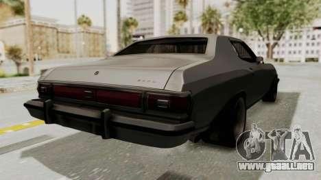 Ford Gran Torino 1975 Special Edition para la visión correcta GTA San Andreas