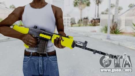 IOFB INSAS Yellow para GTA San Andreas tercera pantalla