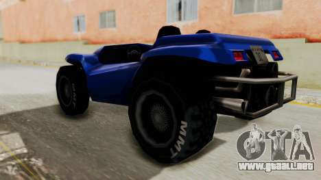 BF Buggy para GTA San Andreas left