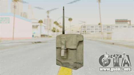 Metal Slug Weapon 4 para GTA San Andreas