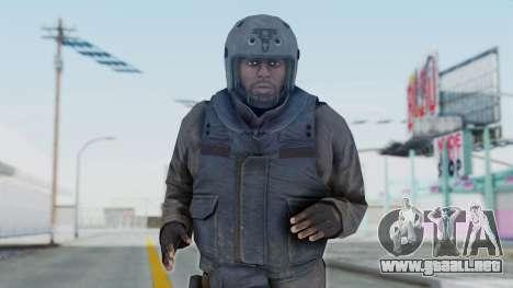 MGSV Phantom Pain Zero Risk Vest v1 para GTA San Andreas