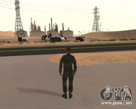 Pak Militar Ruso para GTA San Andreas séptima pantalla