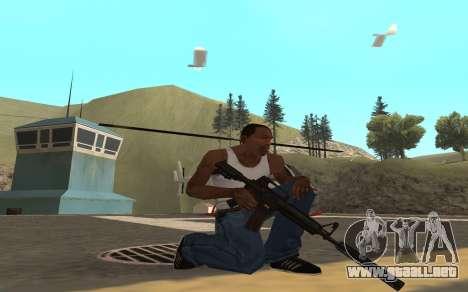 Redline weapon pack para GTA San Andreas segunda pantalla