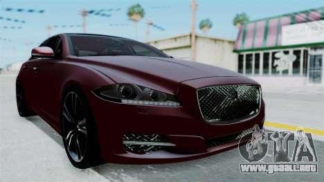 Jaguar XJ 2010 para la visión correcta GTA San Andreas