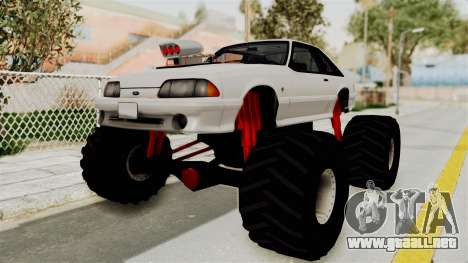 Ford Mustang 1991 Monster Truck para GTA San Andreas