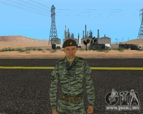 Pak Militar Ruso para GTA San Andreas novena de pantalla