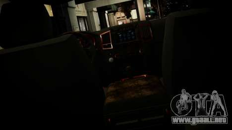 Toyota Land Crusier Prado 150 para GTA 4 interior