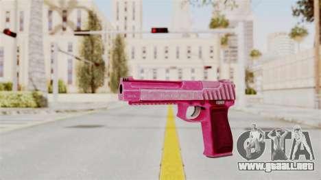 GTA 5 Pistol .50 Pink para GTA San Andreas segunda pantalla