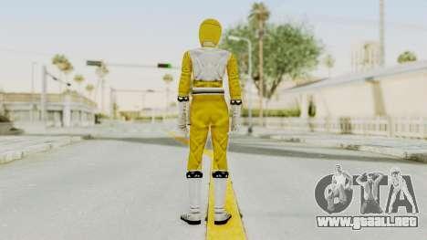 Power Rangers Lost Galaxy - Yellow para GTA San Andreas tercera pantalla