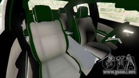 GTA 5 Dodge Charger SRT Hellcat 2015 v1.2 vista lateral derecha