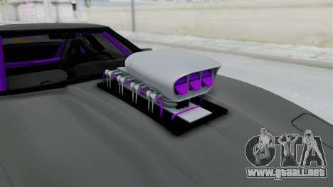Chevrolet Corvette C4 Drag para GTA San Andreas vista hacia atrás