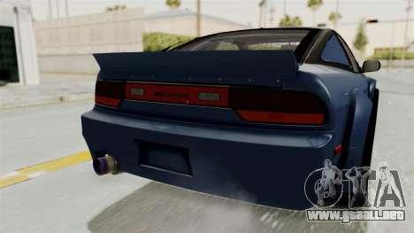 Nissan Silvia Sil80 para vista inferior GTA San Andreas