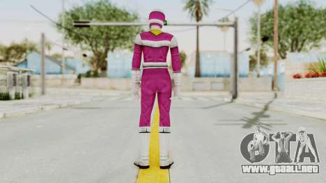 Power Rangers In Space - Pink para GTA San Andreas tercera pantalla