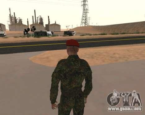 Pak Militar Ruso para GTA San Andreas quinta pantalla