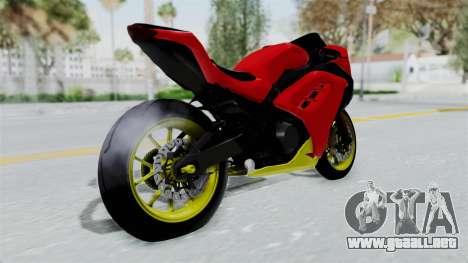 Kawasaki Ninja 250FI Anak Jalanan para GTA San Andreas left