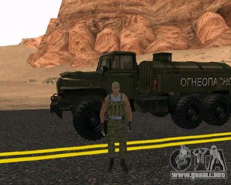Pak Militar Ruso para GTA San Andreas tercera pantalla