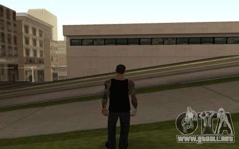 Wuzimu para GTA San Andreas segunda pantalla