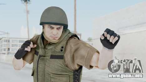 MGSV Phantom Pain CFA Vest v2 para GTA San Andreas