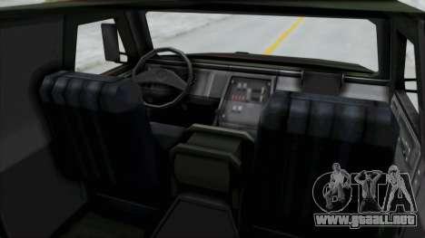 ATF Dingo para la visión correcta GTA San Andreas
