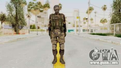 MGSV TPP Diamond Dog Combat Female para GTA San Andreas segunda pantalla
