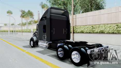 Kenworth T800 para GTA San Andreas left