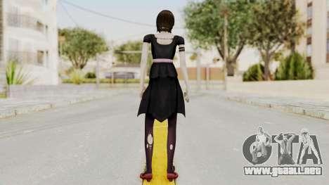 Fatal Frame 4 - Madoka Goth para GTA San Andreas tercera pantalla