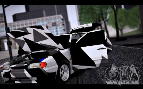 VAZ 2114 Triangle para la vista superior GTA San Andreas