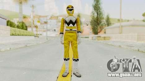 Power Rangers Lost Galaxy - Yellow para GTA San Andreas segunda pantalla