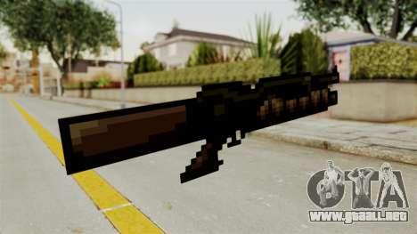 Heavy Machinegun from Metal Slug para GTA San Andreas segunda pantalla