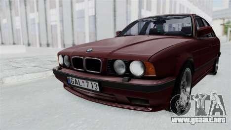BMW 525i E34 1994 LT Plate para GTA San Andreas