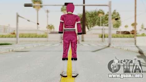 Power Rangers Turbo - Pink para GTA San Andreas tercera pantalla
