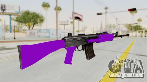 IOFB INSAS Violet para GTA San Andreas segunda pantalla