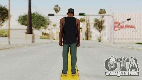 GTA 5 Franklin v3 para GTA San Andreas tercera pantalla