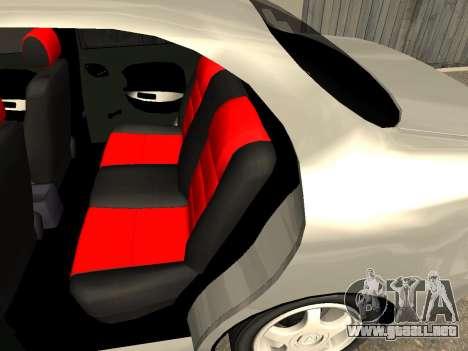 Daewoo Lanos (Sens) 2004 v2.0 by Greedy para la vista superior GTA San Andreas