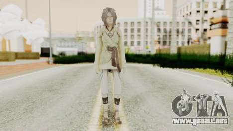 Nora - Final Fantasy XIII para GTA San Andreas segunda pantalla