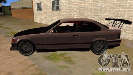 BMW M3 Drift Missile para GTA San Andreas left