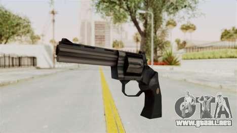 Liberty City Stories Colt Python para GTA San Andreas segunda pantalla