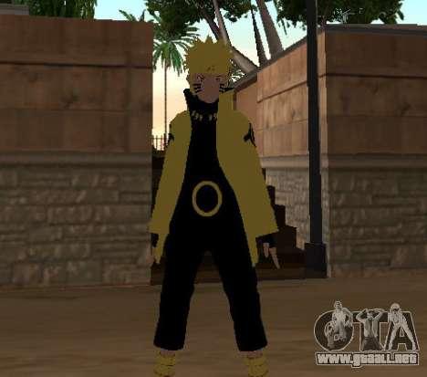 Naruto Ashura para GTA San Andreas tercera pantalla