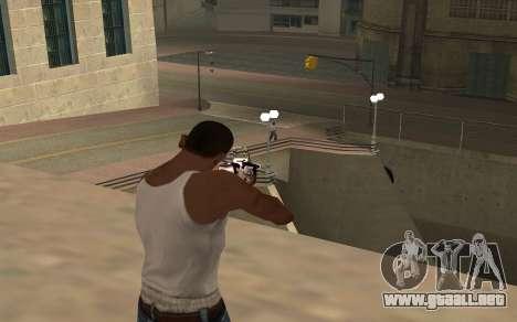 Purple fire weapon pack para GTA San Andreas sexta pantalla