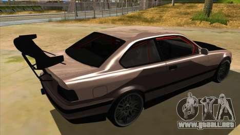 BMW M3 Drift Missile para la visión correcta GTA San Andreas